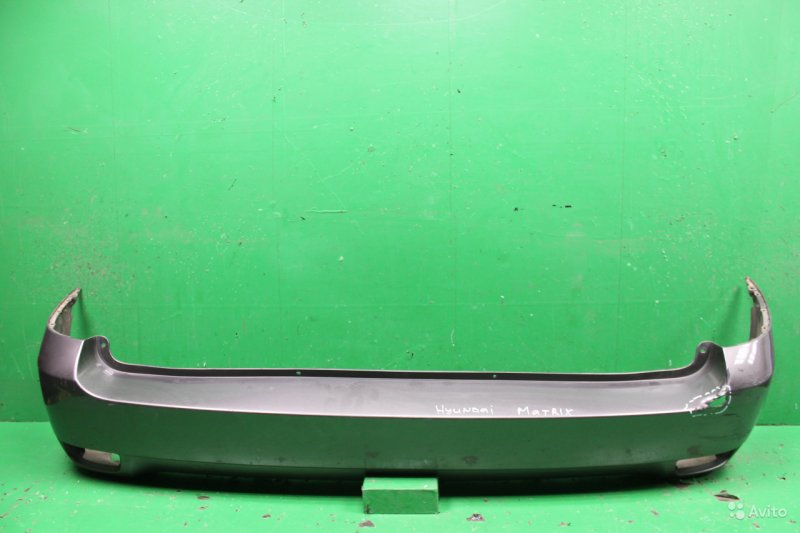 Бампер Hyundai Matrix 1 РЕСТАЙЛИНГ 2 2008 задний (б/у)