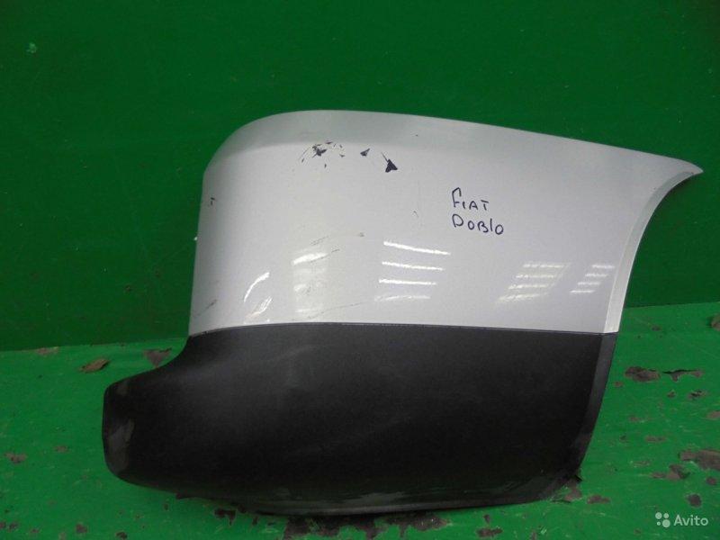 Бампер Fiat Doblo 2005 задний правый (б/у)