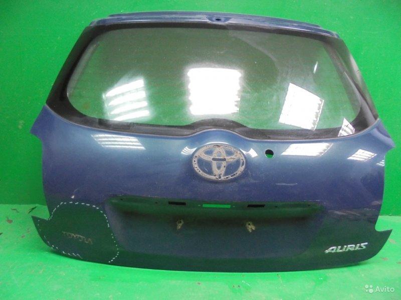 Дверь багажника Toyota Auris 2006 (б/у)