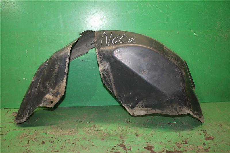Подкрылок Nissan Note E11 2005 задний левый (б/у)