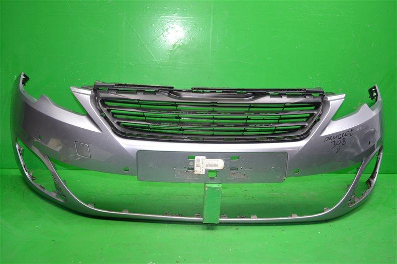 Бампер Peugeot 308 2 2013 передний (б/у)