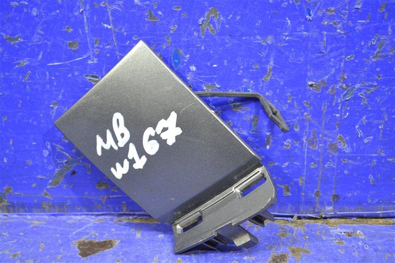 Заглушка буксировочного крюка amg Mercedes Gle V167 2018 передняя (б/у)