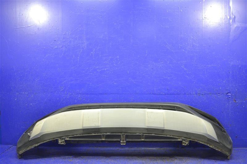 Юбка бампера Volkswagen Teramont 2017 передняя (б/у)