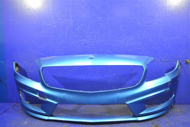 Бампер amg Mercedes А W176 2012 передний (б/у)