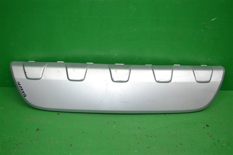 Накладка бампера Opel Mokka 2012 задняя (б/у)