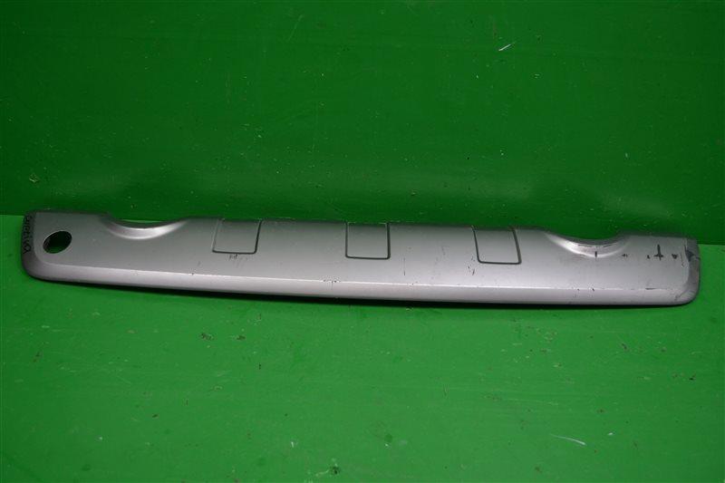 Накладка бампера Chevrolet Captiva 2006 задняя нижняя (б/у)