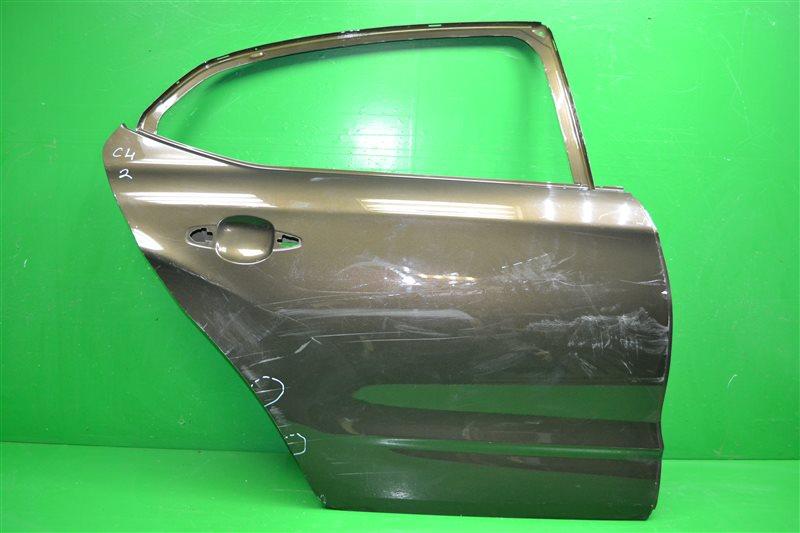 Дверь Citroen C4 2 2010 задняя правая (б/у)