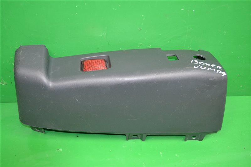 Накладка бампера Peugeot Boxer 3 2006 задняя правая (б/у)