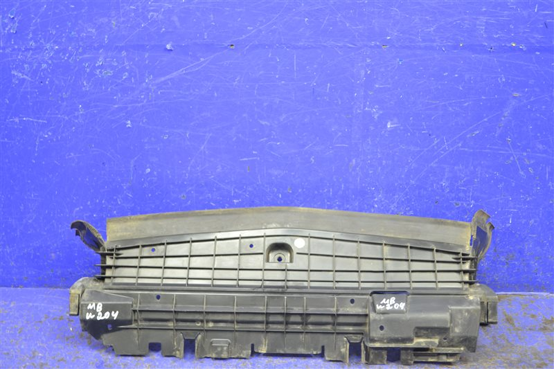 Дефлектор радиатора Mercedes Glk X204 2008 нижний (б/у)