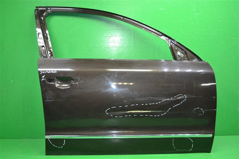 Дверь Skoda Superb 2 2008 передняя правая (б/у)