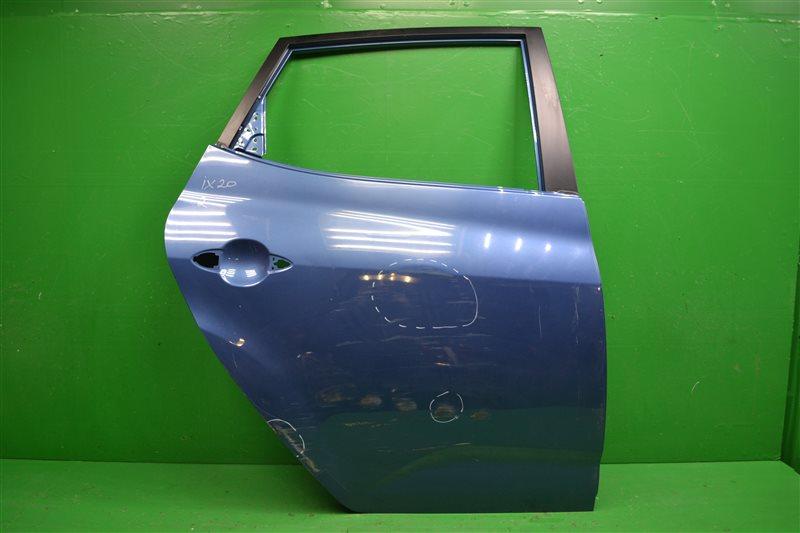 Дверь Hyundai Ix20 2010 задняя (б/у)