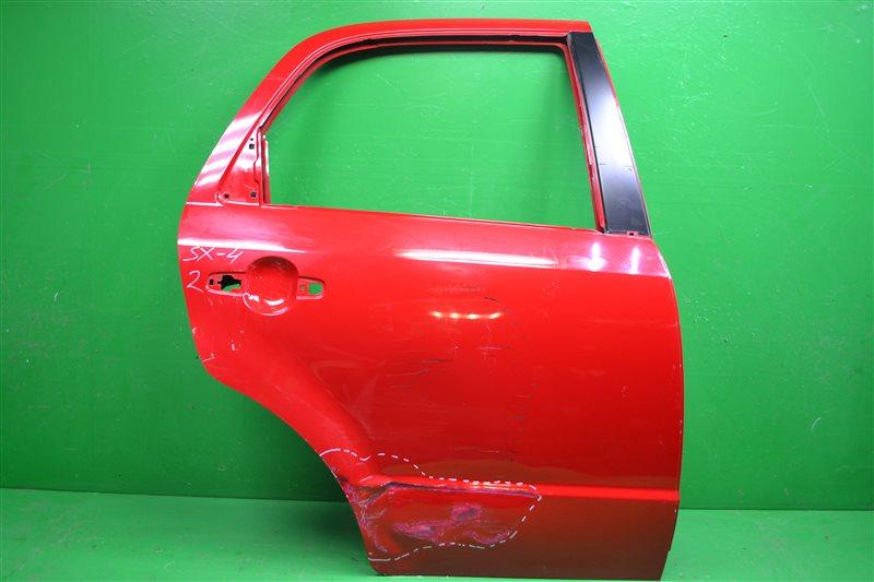 Дверь Suzuki Sx4 2 2013 задняя правая (б/у)