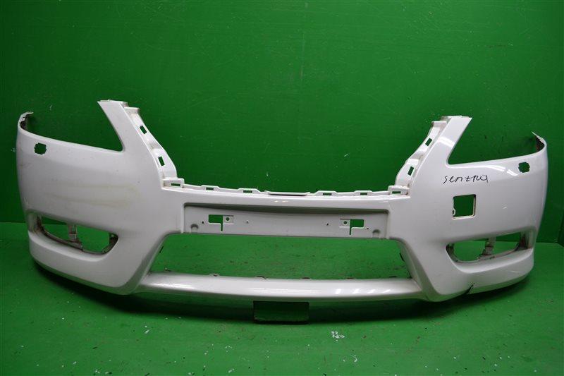 Бампер Nissan Sentra B17 2012 передний (б/у)