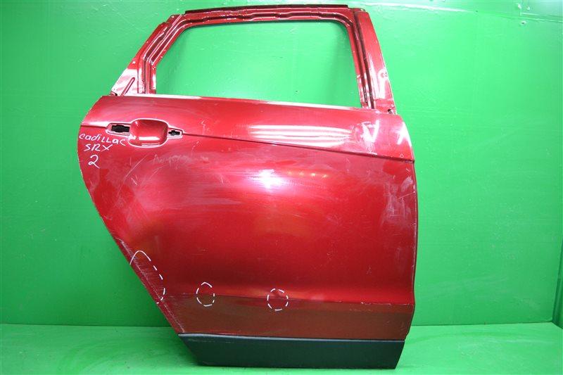Дверь Cadillac Srx 2 2009 задняя правая (б/у)