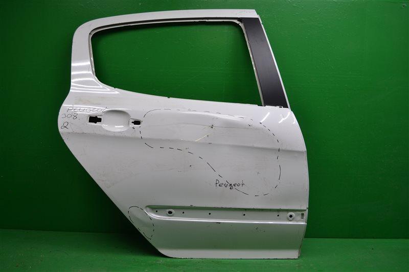 Дверь Peugeot 308 2008 задняя правая (б/у)