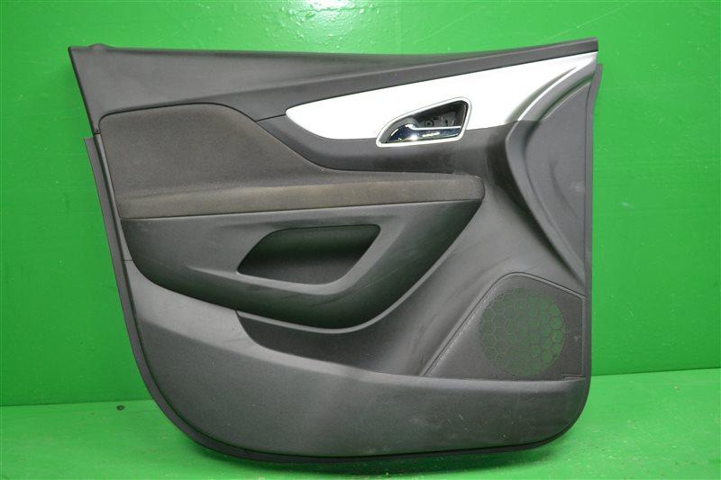 Обшивка двери Opel Mokka 2012 передняя левая (б/у)