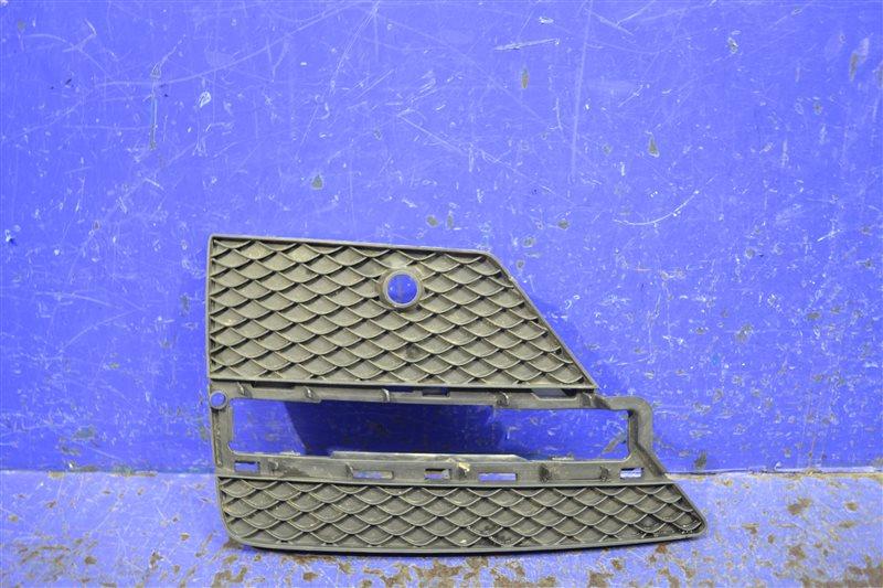 Решетка бампера amg Mercedes Ml W166 2011 левая (б/у)