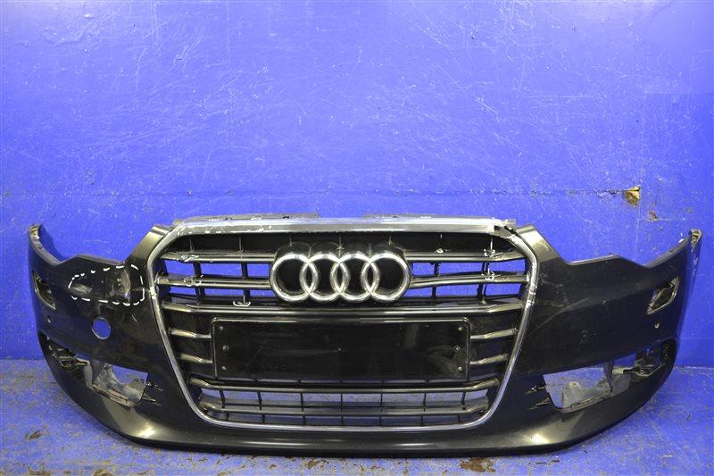 Бампер s-line Audi A6 C7 2014 передний (б/у)