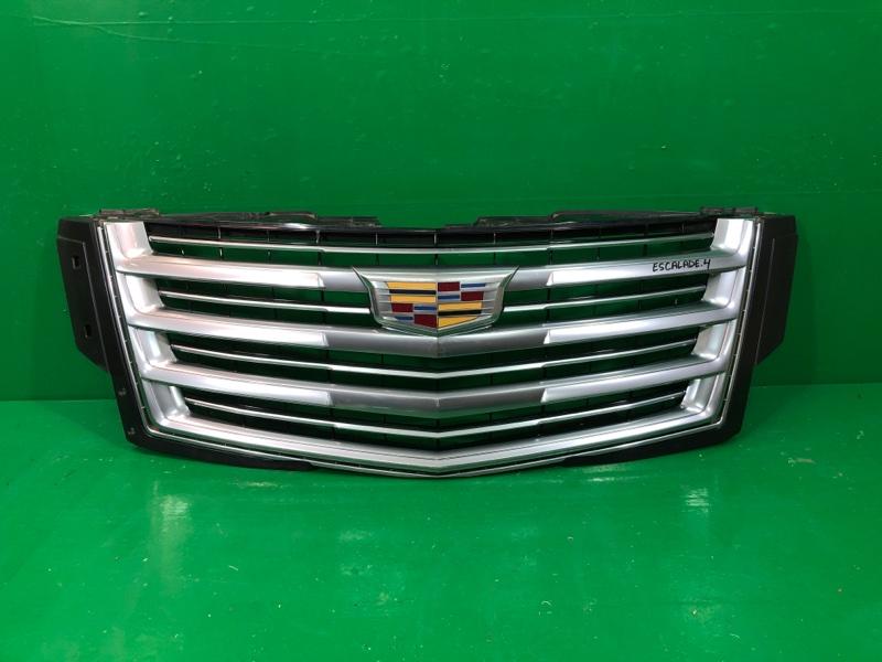 Решетка радиатора Cadillac Escalade 4 2014 (б/у)