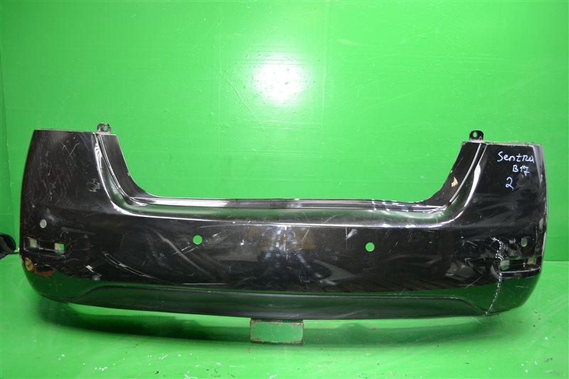 Бампер Nissan Sentra B17 2012 задний (б/у)