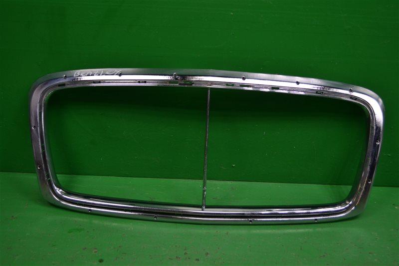 Накладка решетки радиатора Bentley Continental GT 2011 (б/у)