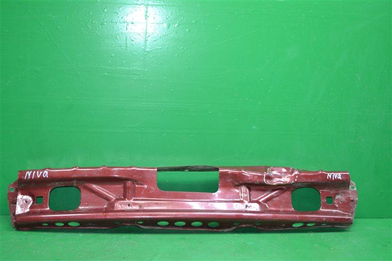 Усилитель бампера Chevrolet Niva 2002 задний (б/у)