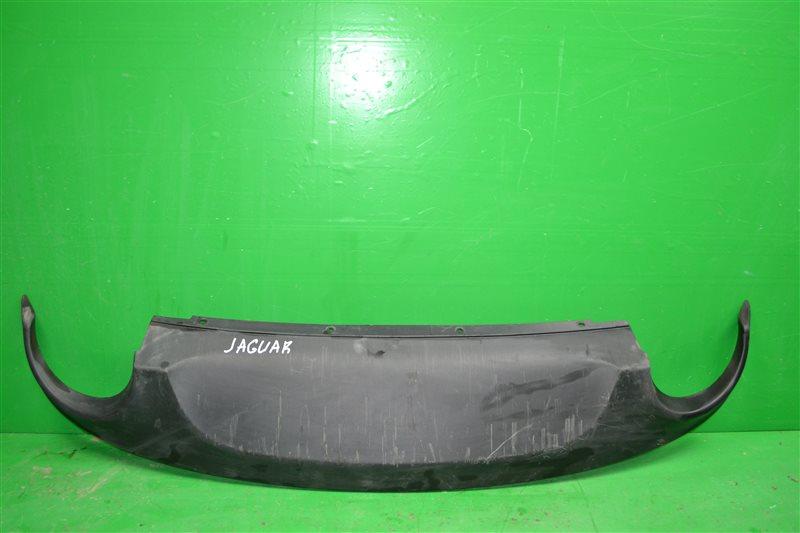 Накладка бампера Jaguar Xf 2011 задняя (б/у)