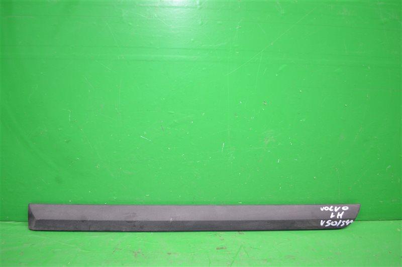 Молдинг двери Volvo V40 2 2004 задний левый (б/у)