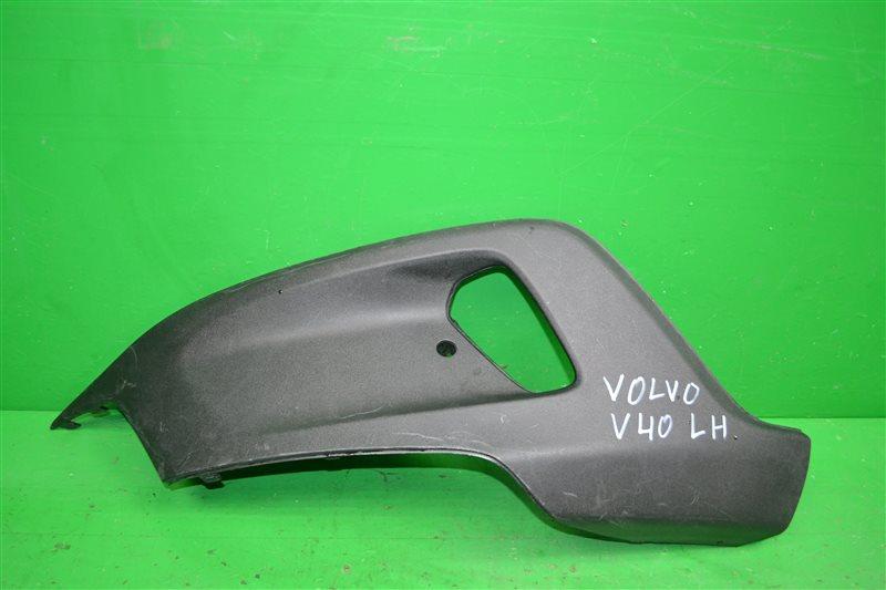 Накладка бампера Volvo V40 Cross Country 2 2012 передняя левая (б/у)