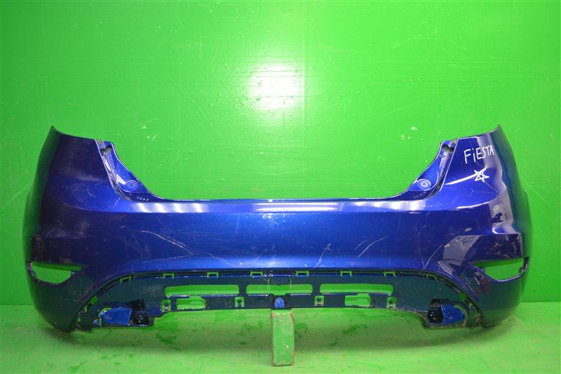 Бампер Ford Fiesta MK6 2008 задний (б/у)