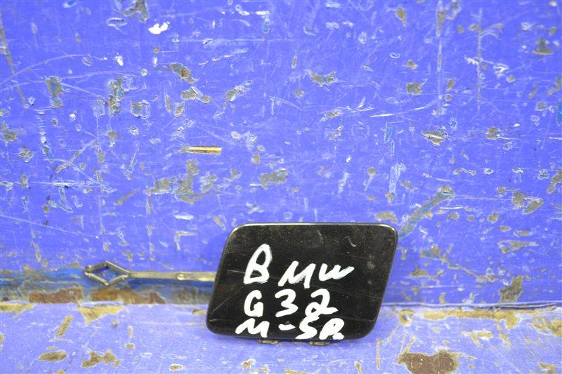 Заглушка бампера m paket Bmw 6 G32 2017 задняя (б/у)