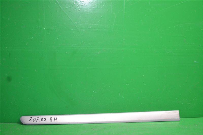 Накладка двери Opel Zafira B 2005 передняя правая (б/у)