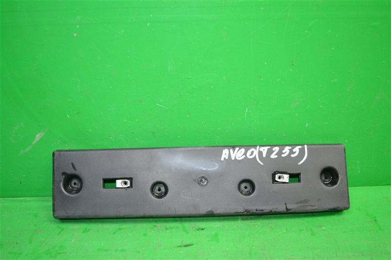 Площадка номерного знака Chevrolet Aveo T255 2006 (б/у)