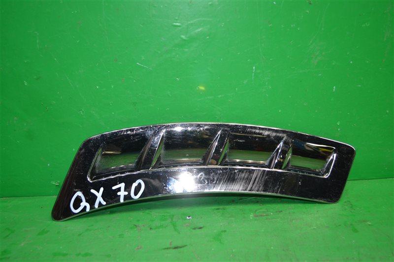 Накладка крыла Infiniti Qx70 2013 передняя левая (б/у)