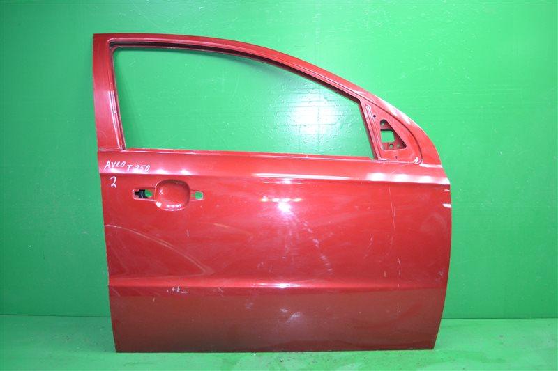 Дверь Chevrolet Aveo T250 2006 передняя правая (б/у)