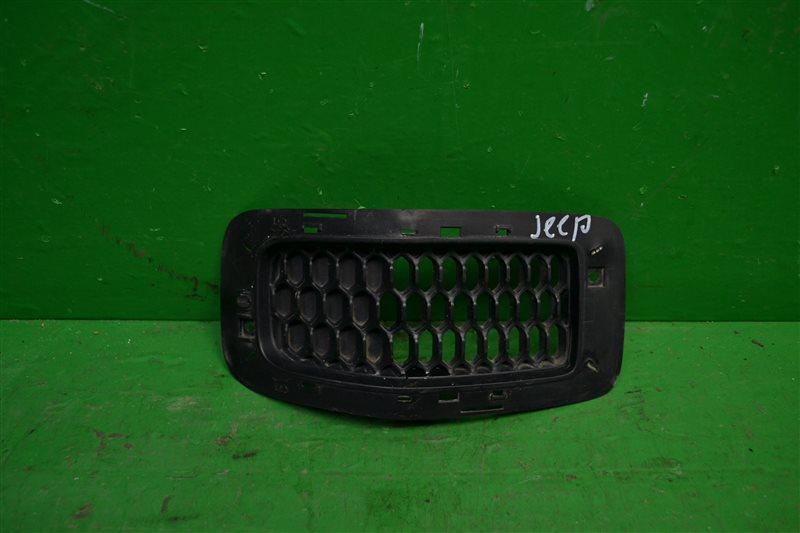 Решетка радиатора Jeep Cherokee KL 2013 (б/у)