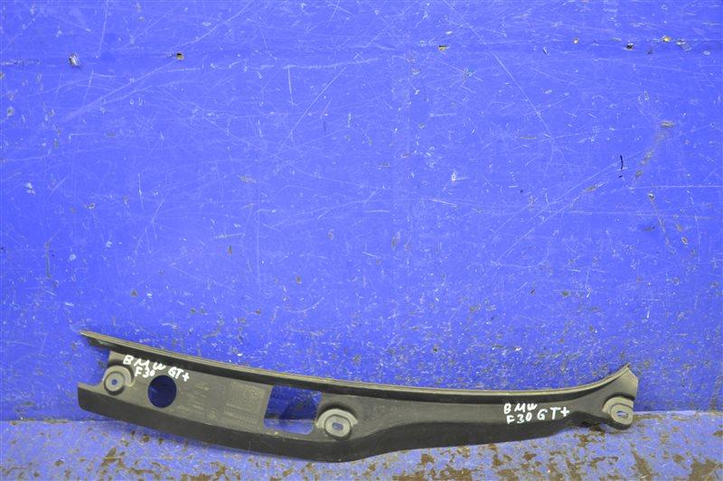 Уплотнитель капота Bmw 3 Gt F34 2011 левый (б/у)