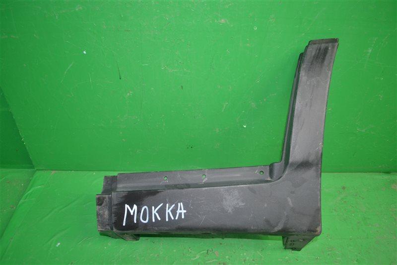 Накладка порога Opel Mokka 2012 задняя левая (б/у)