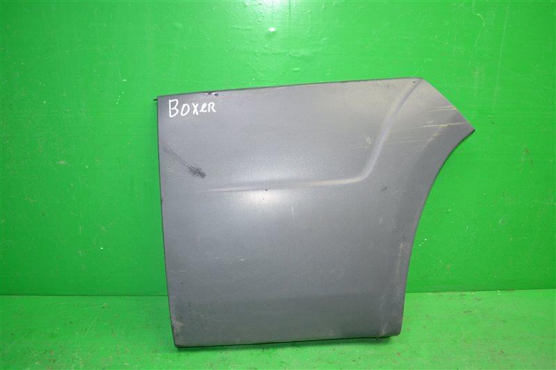 Накладка бампера Peugeot Boxer 2006 задняя левая (б/у)