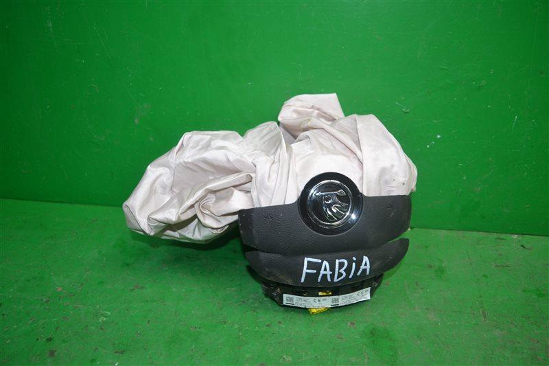 Подушка безопасности ( airbag ) в руль Skoda Fabia 2 2007 (б/у)
