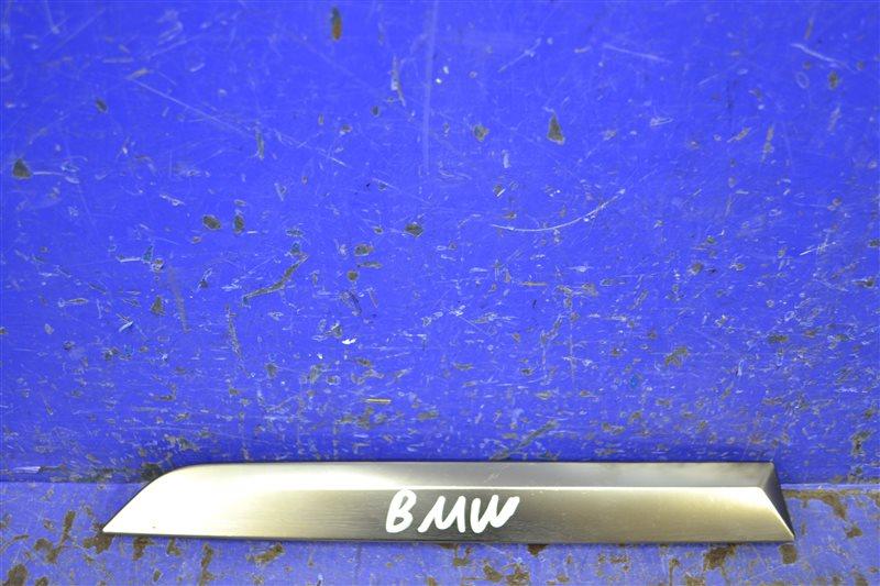 Накладка бампера m-paket Bmw X7 G07 2018 задняя левая (б/у)