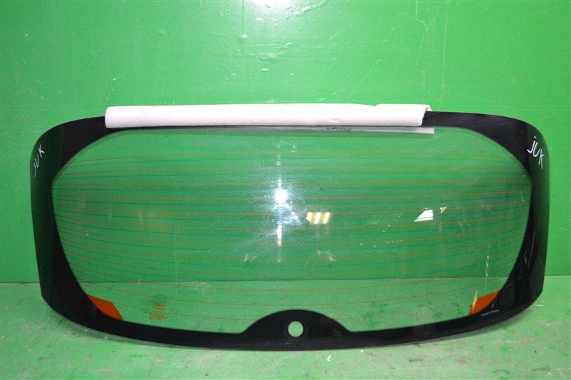 Стекло багажника  Nissan Juke YF15 2010 (б/у)