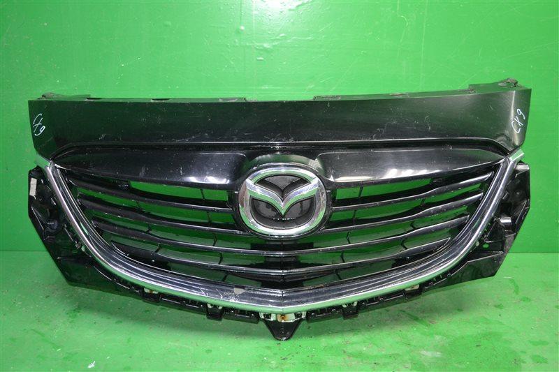 Решетка радиатора Mazda Cx-9 Cx9 РЕСТАЙЛИНГ 2012 (б/у)