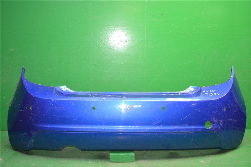 Бампер Chevrolet Aveo T300 2011 задний (б/у)