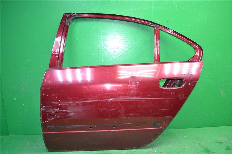 Дверь Peugeot 607 2000 задняя левая (б/у)