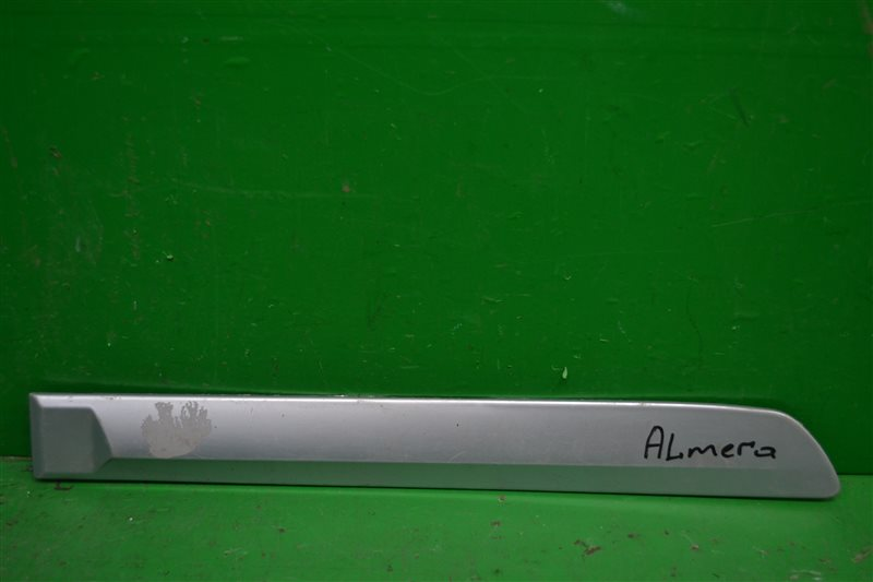 Накладка двери Nissan Almera Classic 2006 задняя правая (б/у)
