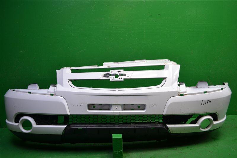 Бампер Chevrolet Niva РЕСТАЙЛИНГ 2009 передний (б/у)