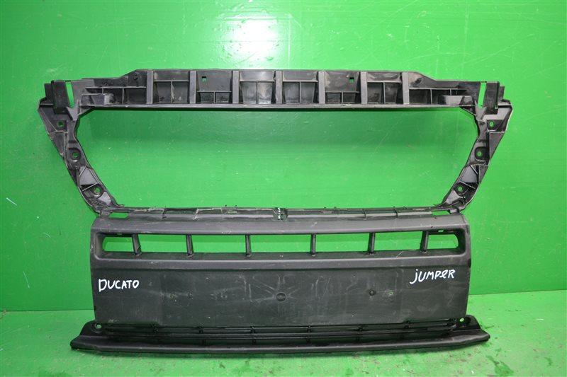 Решетка радиатора Peugeot Boxer 3 РЕСТАЙЛИНГ 2014 (б/у)