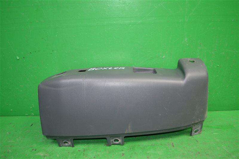 Накладка бампера Peugeot Boxer 3 2006 задняя левая (б/у)