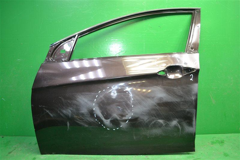 Дверь Hyundai I40 2011 передняя левая (б/у)